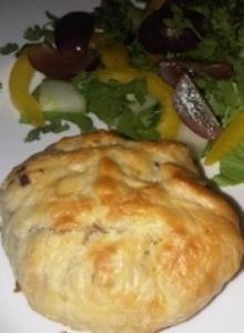 Chicken Pie Parcels