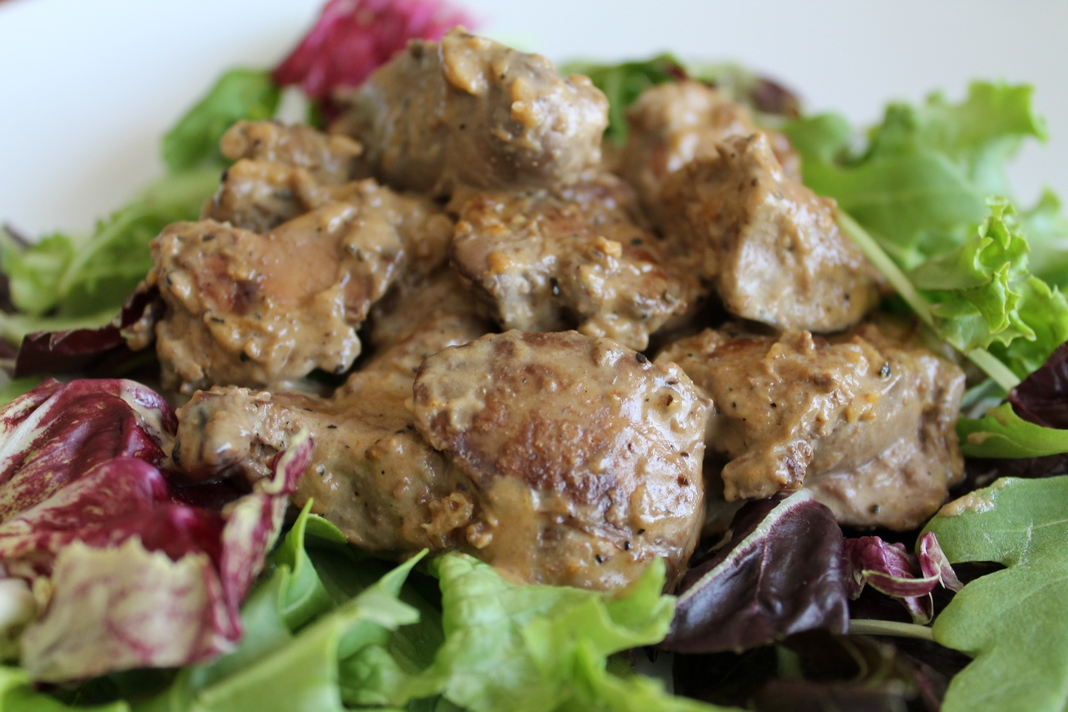 how to cook chicken livers like nandos