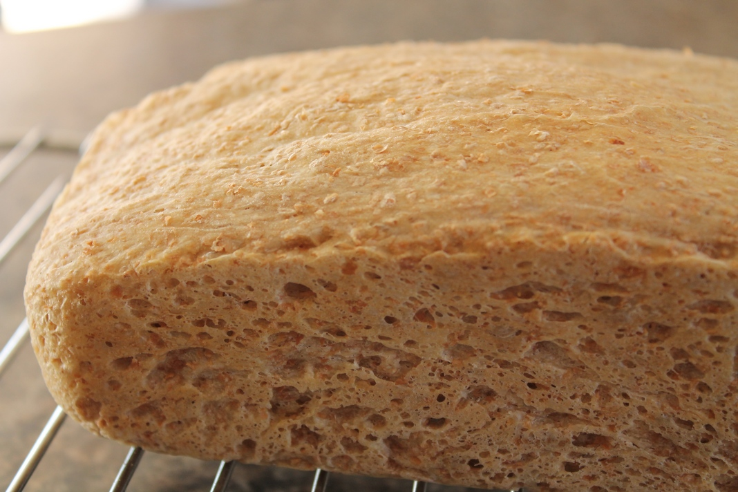 how to make brown bread flour