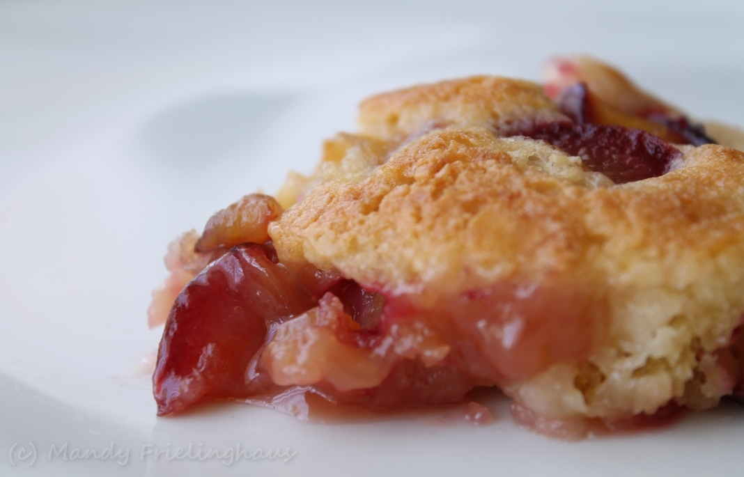 Sweet Cherry, Black Plum And Yellow Peach Cobbler Recipe ...