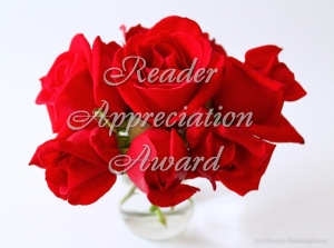 Reader appreciatio award