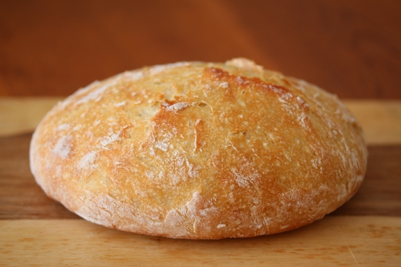 No knead crusty bread  1