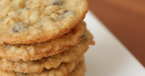 Choc Chip Oat Biscuits 3