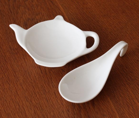 Teabag spoon rest