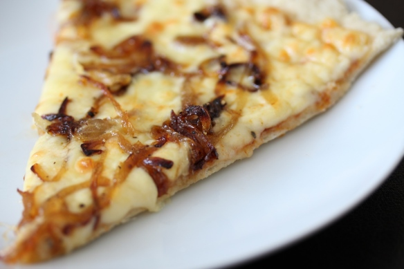 cheese onion pizza