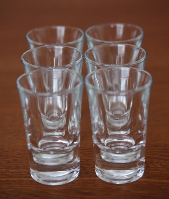 shot glass vases