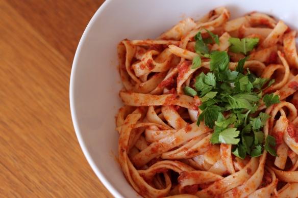 Anchovie pasta
