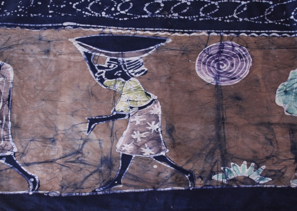 Nigerian tablecloth