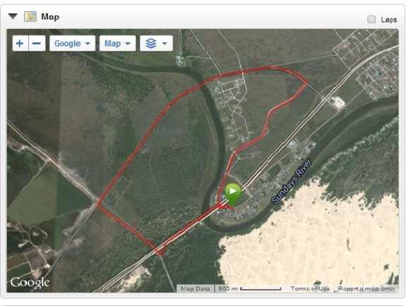 7.54km run