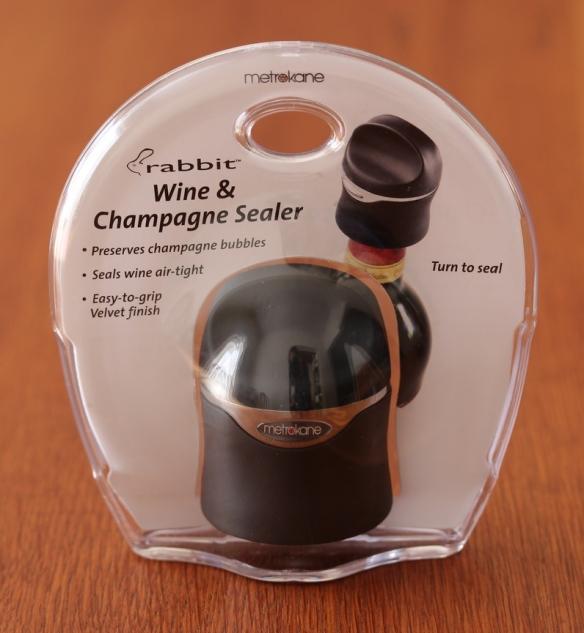 Champagne sealer