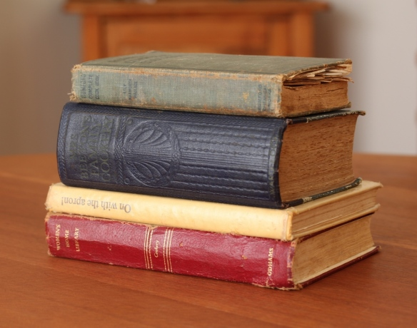 Old cookery books