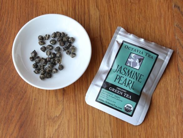 Jasmine Pearl organic green tea