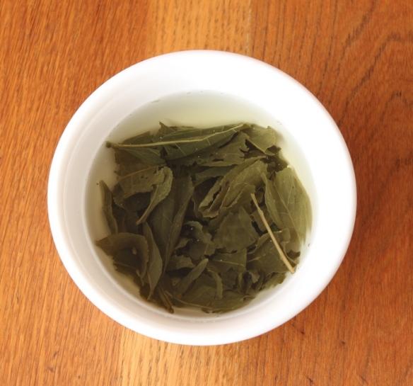 Lemon Green Organic tea 2