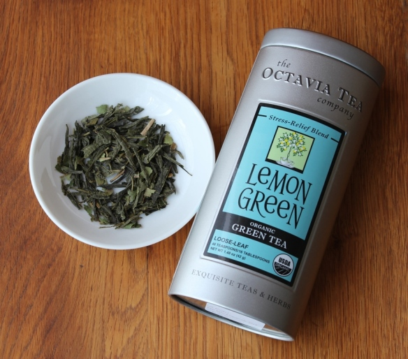Lemon Green organic tea