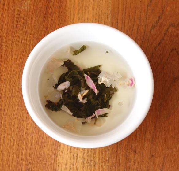 Rose Oolong tea 2