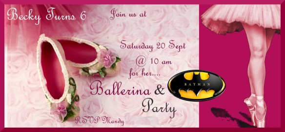 Becky invite