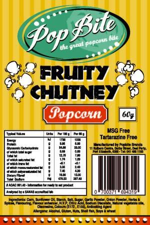 Popbite Fruity Chutney
