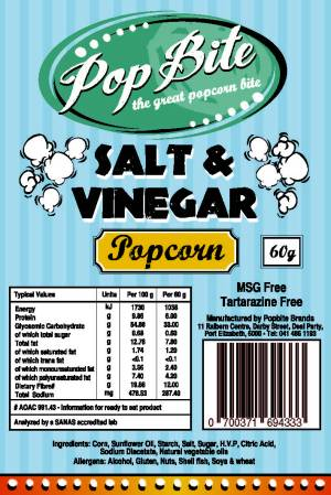 Popbite salt vinegar