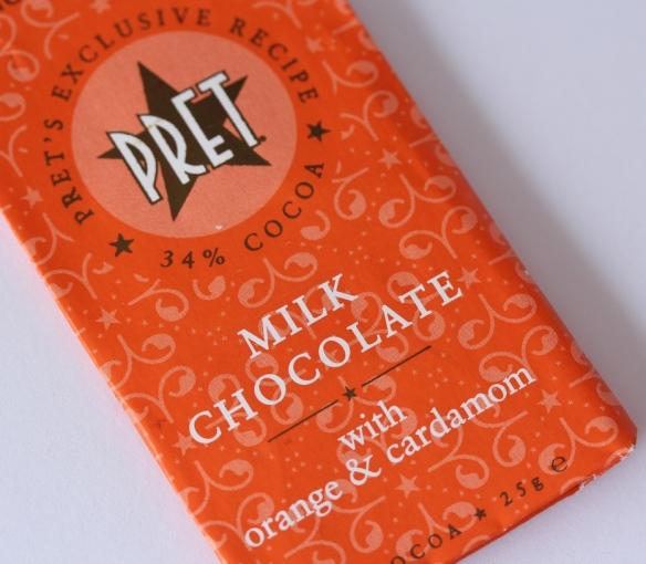 Pret chocolate