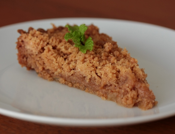 Buddha apple crumble