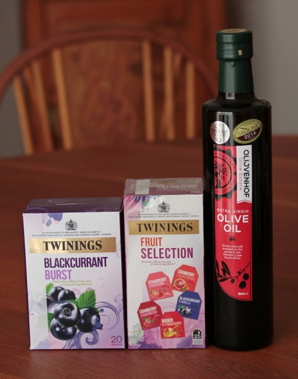 tea olive oil