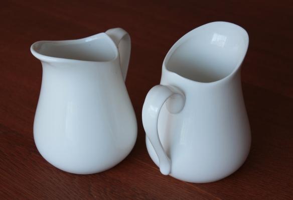 Custard jugs