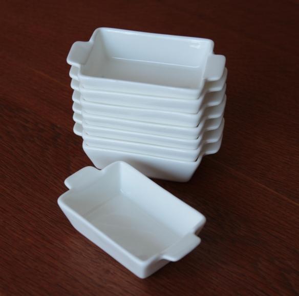 Mini sauce bowls