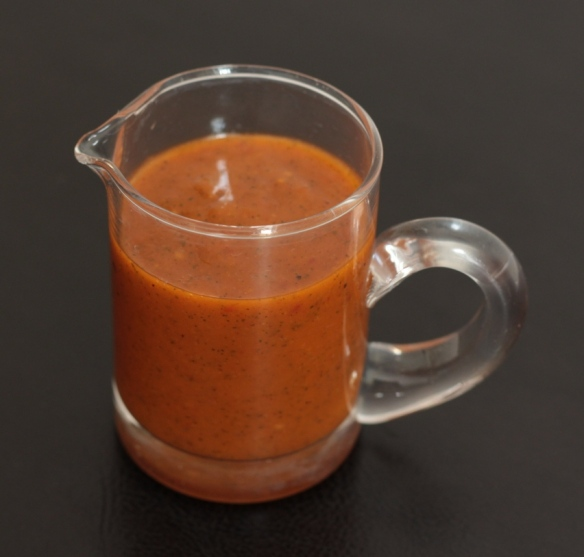 Sundried tomato ginger dressing