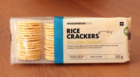 Woolies Rice Crackers