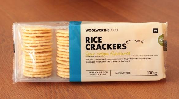 Woolies Rice Crackers