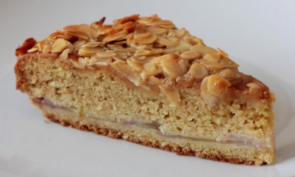 Pear Almond Cake 4