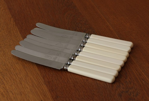bone handled cake knives