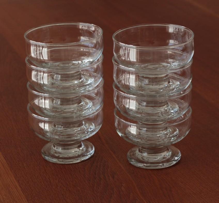 glass serving bowls